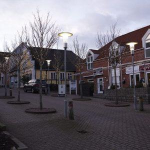 Julebelysning, Storegade i Nordborg